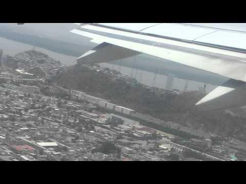 TACA taking off from Guayaquil, Ecuador HD
