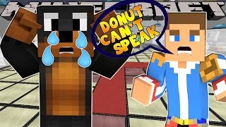 Minecraft - Little Donny Adventures - DONUT LOST HIS VOICE FOREVER!!!!!