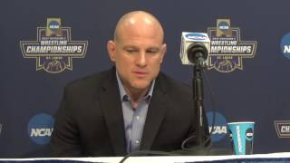 Cael Sanderson: 'This is very special'