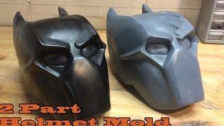 getlinkyoutube.com-Mold-Making Tutorial: Two Part Helmet Mold