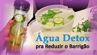 getlinkyoutube.com-Água Detox - Receita Para Desinchar e Reduzir Medidas Abdominais