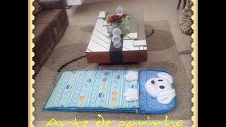 getlinkyoutube.com-Saco de dormir para criança.Passo a passo com Arte de Paninho