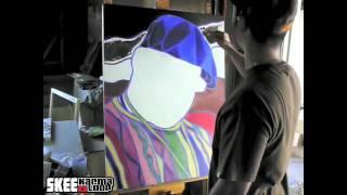 Timothy teruo watters fait les portraits de diddy & biggie