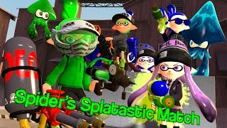 getlinkyoutube.com-[Splatoon GMOD] Spider's Splatastic Match