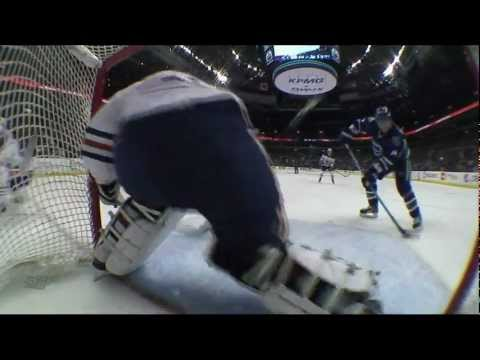 Canucks Vs Oilers - Alex Burrows 4-1 Goal - 12.26.11 - HD