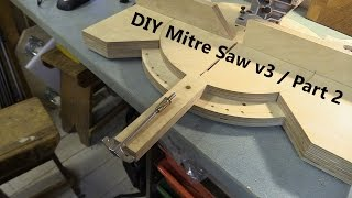 getlinkyoutube.com-Pivoting Mitre Saw Base - Part 2 / Fence and Angle Locking Mechanism