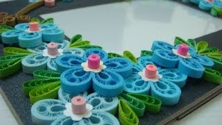 getlinkyoutube.com-How to make a quilled Malaysian flower