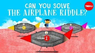 Can you solve the airplane riddle? - Judd A. Schorr width=