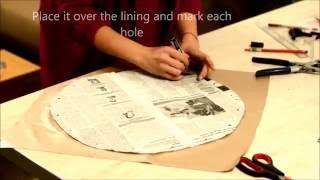 getlinkyoutube.com-DIY circle handbag