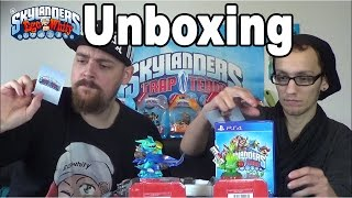 getlinkyoutube.com-Skylanders Trap Team - PS4 Starter Pack Unboxing - Pre Release [HD]  Deutsch/German