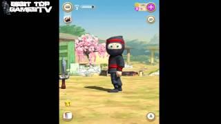 getlinkyoutube.com-Clumsy Ninja Halloween - Official HD GamePlay