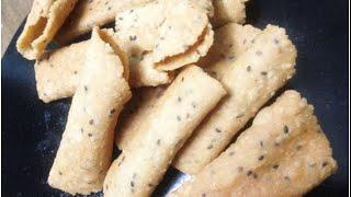 getlinkyoutube.com-Kuzhalappam Kerala Snack കുഴലപ്പം