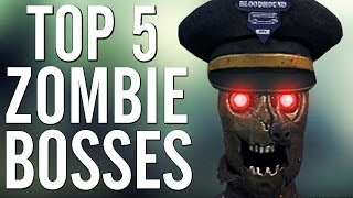 getlinkyoutube.com-CoD Top 5 WORST Zombie Bosses! Call of Duty Black Ops & Black Ops 2!!!