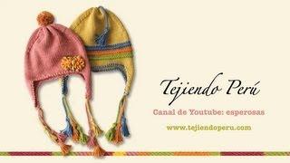 getlinkyoutube.com-Aguja circular: tejiendo un chullo (Parte 1)