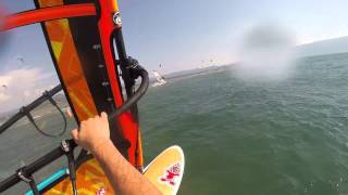 getlinkyoutube.com-Windsurfing beginner´s motivation video    START WINDSURFING NOW !!! :)
