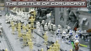 getlinkyoutube.com-LEGO Star Wars : The Battle Of Coruscant - Collaboration MOC!