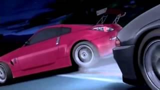 getlinkyoutube.com-頭文字D Initial D Fifth Stage - ZERO vs 死神 FAIRLADY Z33 vs SKYLINE GTR-32