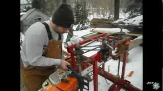 getlinkyoutube.com-Chainsaw Milling
