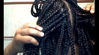 getlinkyoutube.com-Box Braids with Crochet Braids 3/15/13