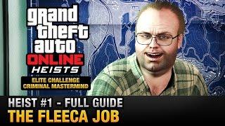 getlinkyoutube.com-GTA Online Heist #1 - The Fleeca Job (Elite Challenge & Criminal Mastermind)
