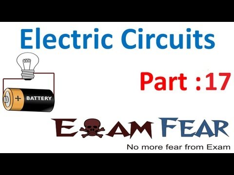 Physics Electric Circuits part 17 (Numerials: Kirchhoff law) CBSE class 12