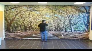 getlinkyoutube.com-ORACAL Indoor Wall Mural Installation
