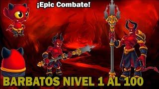 Monster Legends - Barbatos (Nivel 1 al 100) + Combate