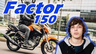 getlinkyoutube.com-Nova Yamaha Factor 150 2016 preço e vídeo oficial - Motorede
