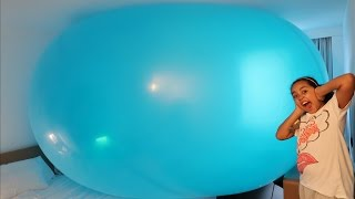 getlinkyoutube.com-Giant Balloon Stuck In Our Hotel Room - Fungus Amungus - Ugglys Pet Shop Surprises