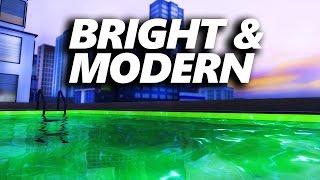 getlinkyoutube.com-BRIGHT & MODERN PENTHOUSE  [ The Sims 4 Build ]