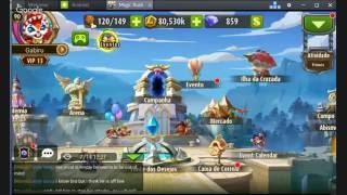 getlinkyoutube.com-MAGIC RUSH HEROES - Torrando 100M de Gold pra tentar deixar a Diaochan Full Breakout
