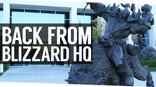 getlinkyoutube.com-Back from Blizzard Headquarters!