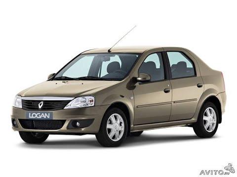 Замена лобового стекла на Renault Logan в Казани.