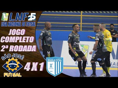 JOGO COMPLETO: São José 4 x 1 Brasília Futsal - 2ª Rodada LNF 2020 (28/08/2020);