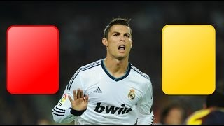 getlinkyoutube.com-Cristiano Ronaldo - Red and yellow cards