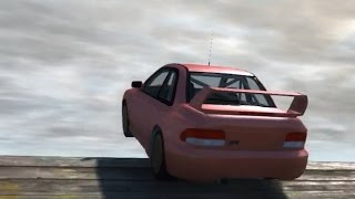 getlinkyoutube.com-BeamNG.drive - Leap of Death With Winds