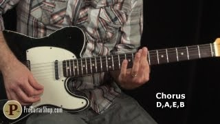 The Rolling Stones - Jumping Jack Flash Guitar Lesson