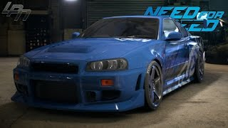 getlinkyoutube.com-NEED FOR SPEED (2015) - NISSAN SKYLINE GT-R R34 GAMEPLAY (TUNING, COP CHASE, DRIFTING, RACES)