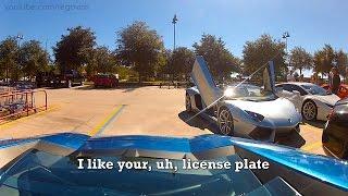 Sådan føles det at være en Lamborghini