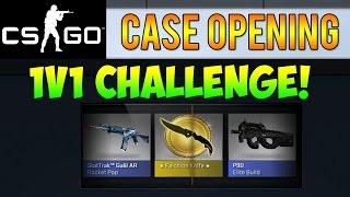 getlinkyoutube.com-CS GO - Case Opening 1v1 Challenge! + Falchion Knife Unboxing! (CS:GO Skins)