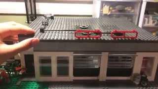 getlinkyoutube.com-custom LEGO 2 car garage MOC update 2