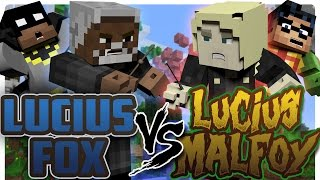Minecraft Batman and Robin Meet Lucius Malfoy! (Minecraft Roleplay) Harry Potter!