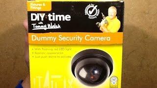 getlinkyoutube.com-Poundland dummy CCTV camera.