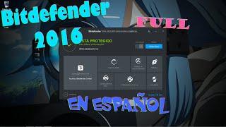 getlinkyoutube.com-Bitdefender Total Security 2016 e Internet Security 2016 Full Español