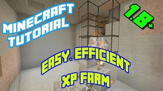 Minecraft Tutorials: Easy, Efficient Skeleton / Zombie XP Farm (1.8.8, 1.9, 1.10)