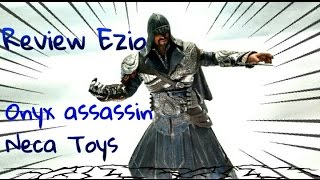 getlinkyoutube.com-Review Neca-Assassin's Creed Brotherhood Ezio onyx assassin PT/BR