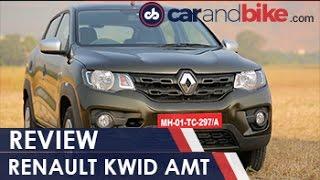 getlinkyoutube.com-Renault Kwid AMT Review - NDTV CarAndBike