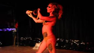"getlinkyoutube.com-""SERPENT'S LULLABY"" - WRAP PARTY Jennifer May Walker - Burlesque Performance"