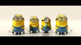 getlinkyoutube.com-Minions Banana Song - Nhặc Phim Kẻ cắp mặt trăng phần 2 - 2013