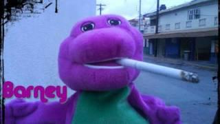 getlinkyoutube.com-Barney El Delincuente